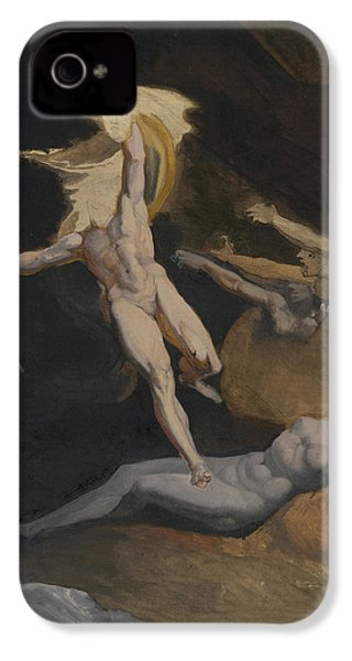 Perseus Slaying The Medusa IPhone 4s Case by Henry Fuseli