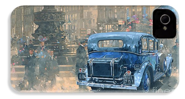 Phantom In Piccadilly  IPhone 4s Case by Peter Miller
