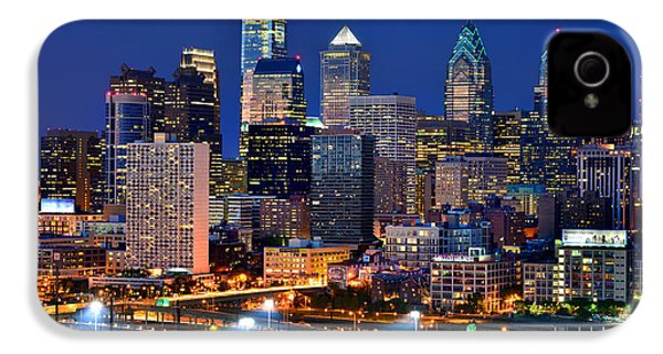 Philadelphia Skyline At Night IPhone 4s Case
