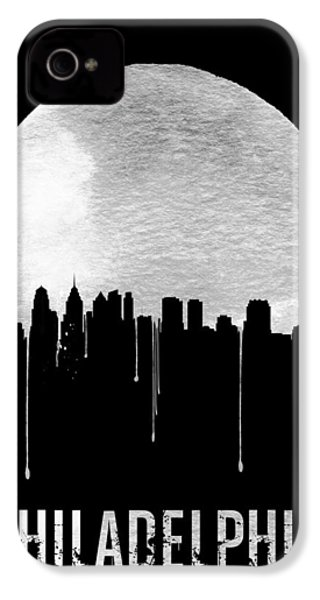 Philadelphia Skyline Black IPhone 4s Case