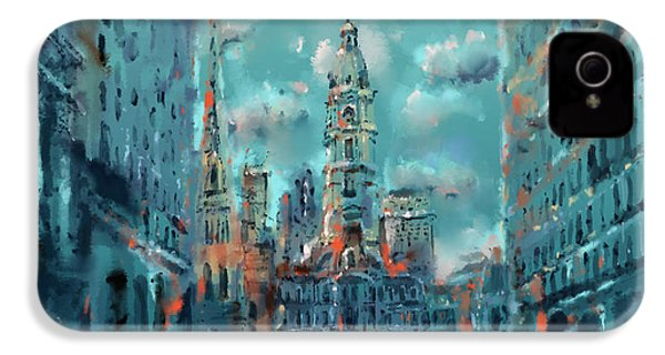 Philadelphia Street IPhone 4s Case