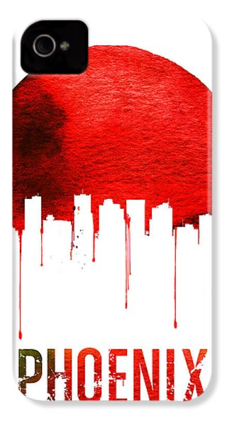 Phoenix Skyline Red IPhone 4s Case