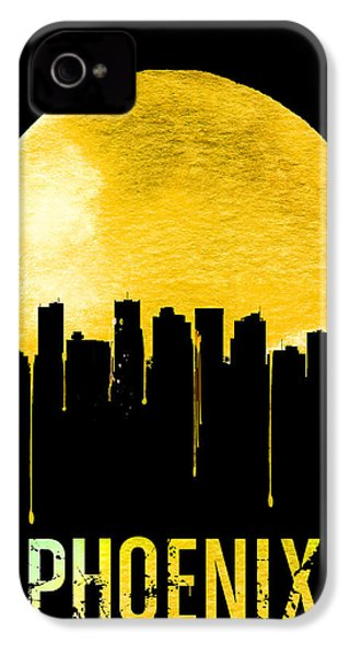 Phoenix Skyline Yellow IPhone 4s Case
