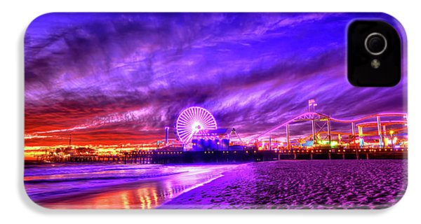 Pier Of Lights IPhone 4s Case by Midori Chan