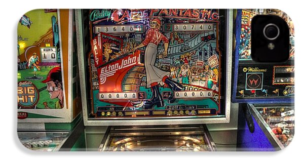 Pinball Elton John Bally IPhone 4s Case