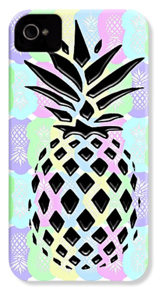 Pineapple Collage IPhone 4s Case by Liesl Marelli