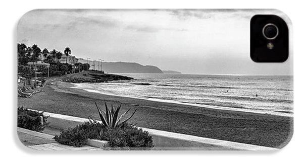 Playa Burriana, Nerja IPhone 4s Case by John Edwards