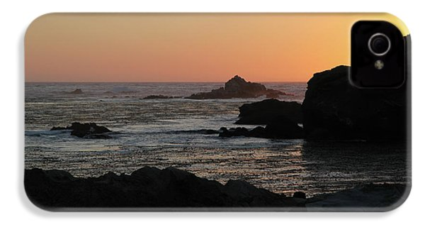 IPhone 4s Case featuring the photograph Point Lobos Sunset by David Chandler