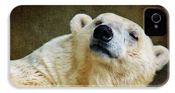 Polar Bear IPhone 4s Case by Angela Doelling AD DESIGN Photo and PhotoArt