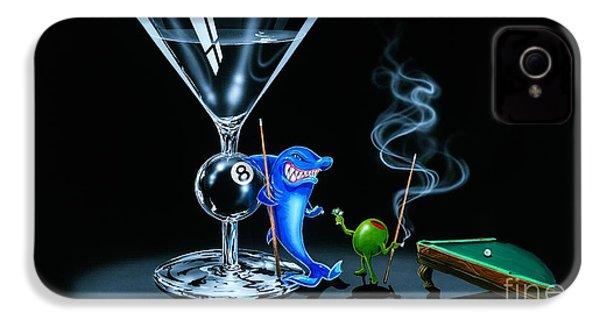 Pool Shark IPhone 4s Case by Michael Godard