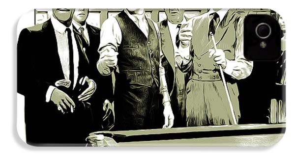 Pool Sharks IPhone 4s Case by Greg Joens