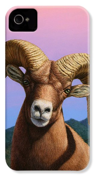 Portrait Of A Bighorn IPhone 4s Case