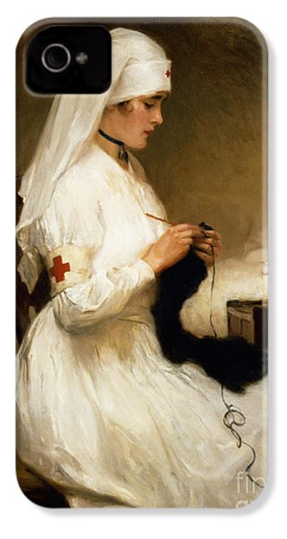 Portrait Of A Nurse From The Red Cross IPhone 4s Case