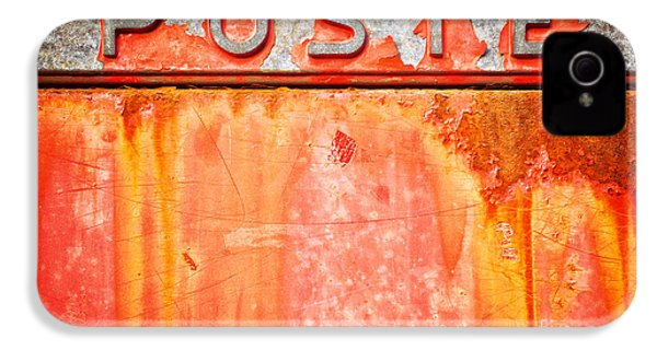 Poste Italian Weathered Mailbox IPhone 4s Case