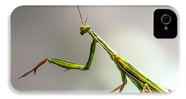 Praying Mantis  IPhone 4s Case by Bob Orsillo