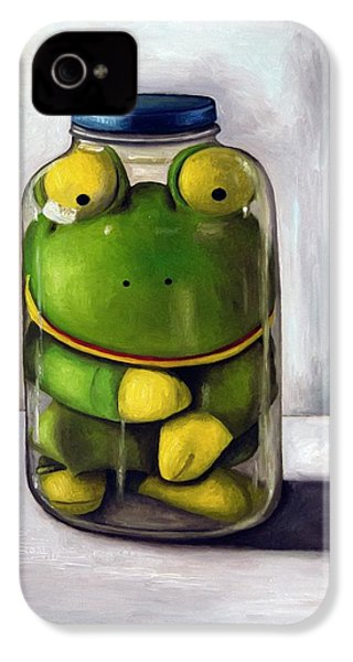 Preserving Childhood IPhone 4s Case by Leah Saulnier The Painting Maniac
