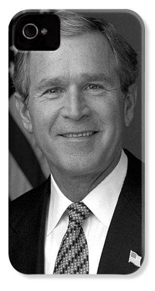 President George W. Bush IPhone 4s Case by War Is Hell Store