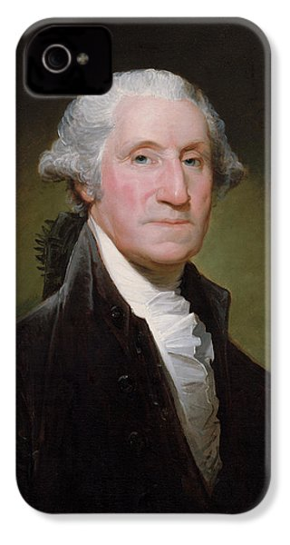 President George Washington IPhone 4s Case by War Is Hell Store