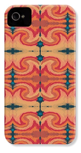 Pumpkin Spice 2- Art By Linda Woods IPhone 4s Case