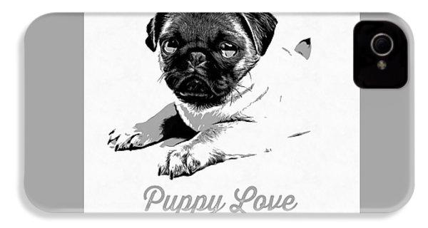 Puppy Love IPhone 4s Case by Edward Fielding
