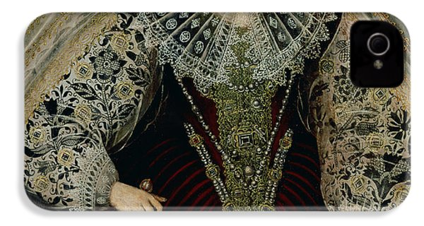Queen Elizabeth I IPhone 4s Case by John the Younger Bettes