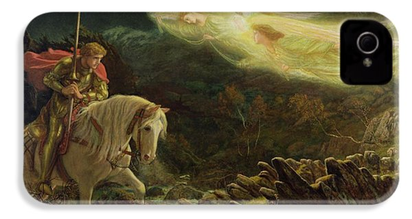 Quest For The Holy Grail IPhone 4s Case by Arthur Hughes
