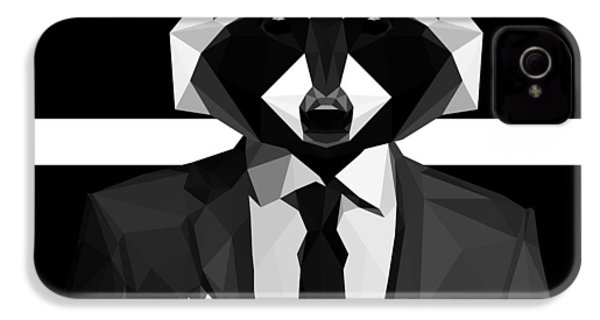 Racoon IPhone 4s Case by Gallini Design