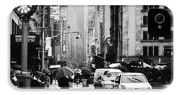 Rain - New York City IPhone 4s Case