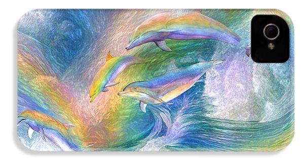 Rainbow Dolphins IPhone 4s Case