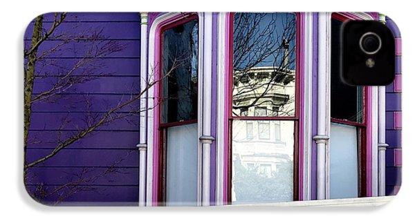 Rainbow Window IPhone 4s Case by Julie Gebhardt