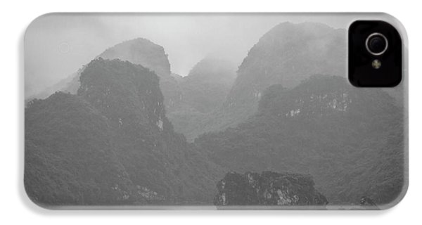 IPhone 4s Case featuring the photograph Rainy Ha Long Bay, Ha Long, 2014 by Hitendra SINKAR