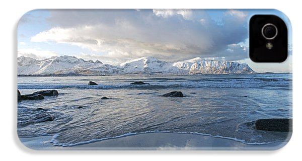 Ramberg Beach, Lofoten Nordland IPhone 4s Case by Dubi Roman