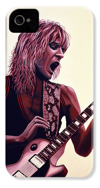Randy Rhoads IPhone 4s Case by Paul Meijering