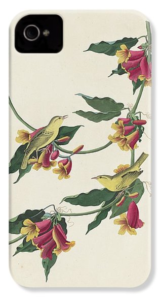 Rathbone Warbler IPhone 4s Case by Dreyer Wildlife Print Collections