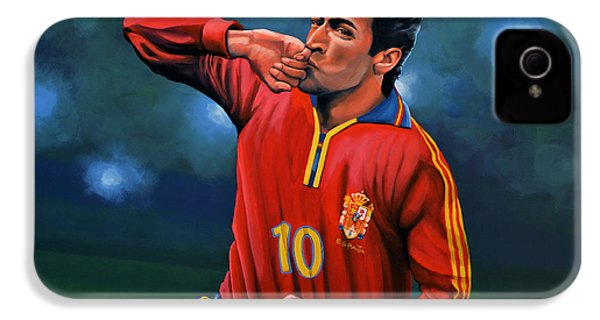 Raul Gonzalez Blanco IPhone 4s Case