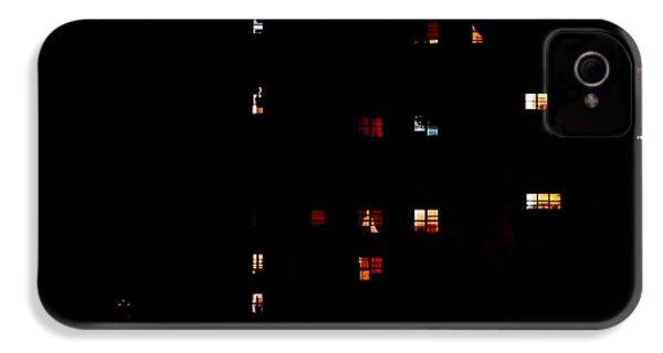Rear Windows IPhone 4s Case by Rona Black