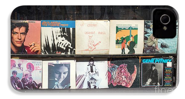Record Store Burlington Vermont IPhone 4s Case by Edward Fielding