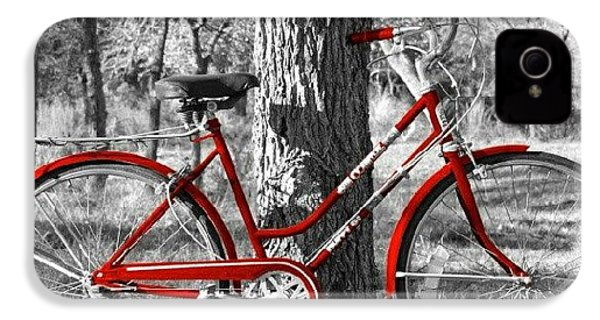 Red Bicycle II IPhone 4s Case
