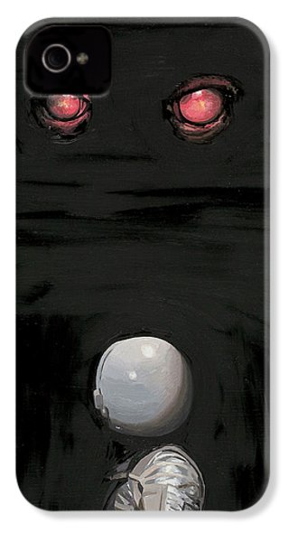 Red Eyes IPhone 4s Case by Scott Listfield