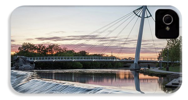 IPhone 4s Case featuring the photograph Reflecting On Wichita by Kyle Findley