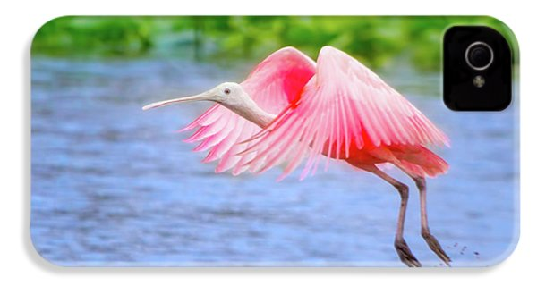 Rise Of The Spoonbill IPhone 4s Case by Mark Andrew Thomas