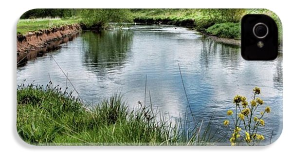 River Tame, Rspb Middleton, North IPhone 4s Case by John Edwards