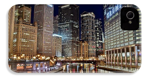 River View Of The Windy City IPhone 4s Case