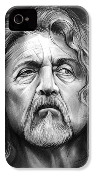Robert Plant IPhone 4s Case by Greg Joens
