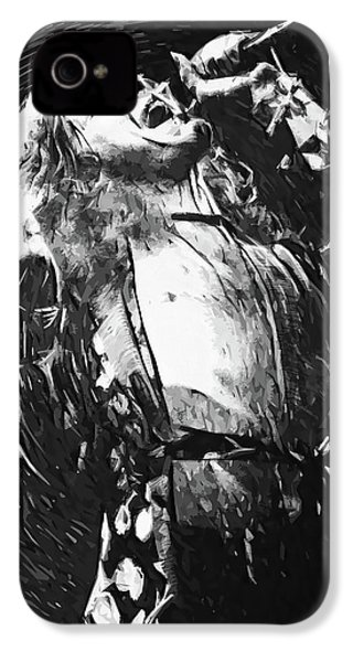 Robert Plant IPhone 4s Case by Taylan Apukovska