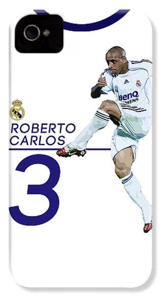 Roberto Carlos IPhone 4s Case by Semih Yurdabak