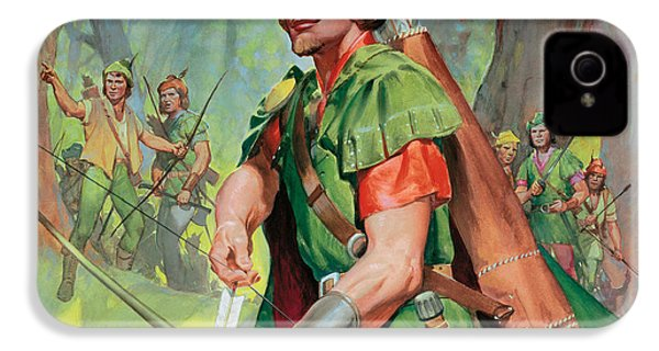 Robin Hood IPhone 4s Case by James Edwin McConnell