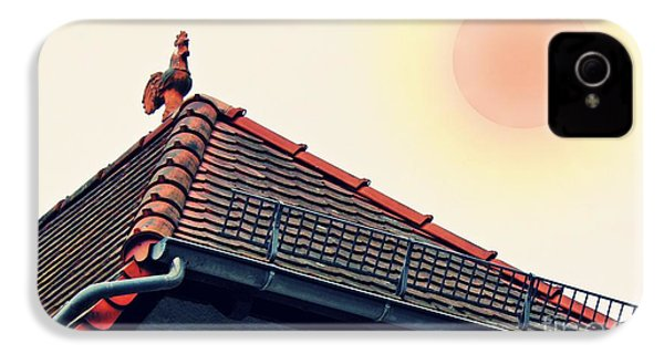 Rooster On The Roof IPhone 4s Case