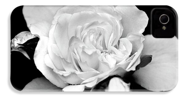 IPhone 4s Case featuring the photograph Rose Black And White by Christina Rollo