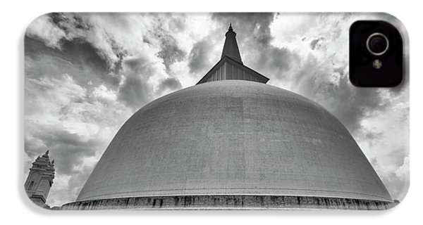 IPhone 4s Case featuring the photograph Ruwanwelisaya, Anuradhapura, 2012 by Hitendra SINKAR